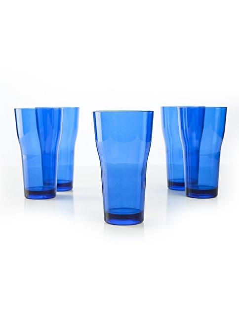 Plabar Kırılmaz Tülip Bardak 6lı Mavi